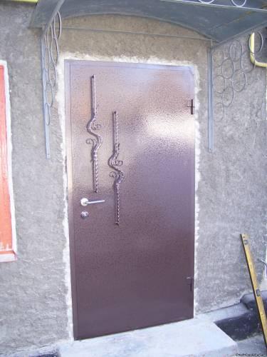 Самодельная дверь видео