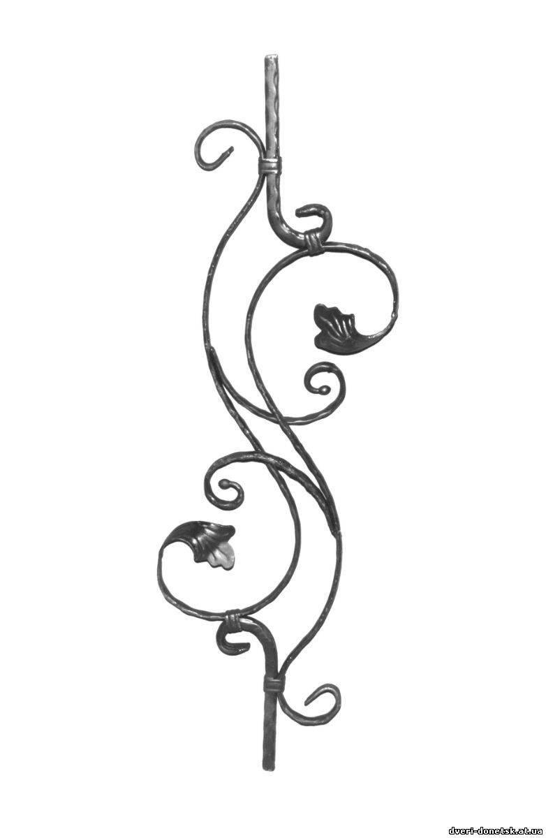 кованные орнаменты на металлические двери